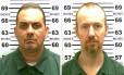 Richard Matt (esquerda) e David Sweat (direita) escaparam de um bueiro na rua. O primeiro morreu em confronto. O segundo, foi baleado