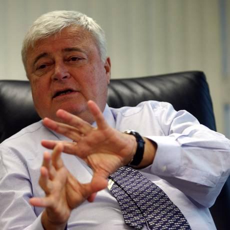 O ex-presidente da CBF Ricardo Teixeira Foto: Jorge William / Agência O Globo/25-02-2008