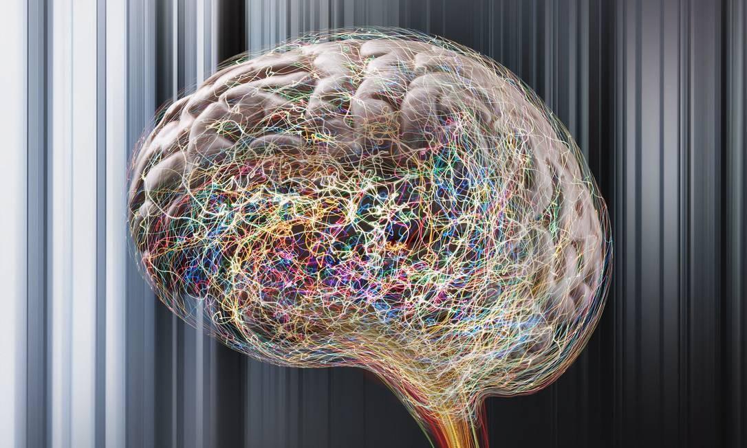 Ilustração do cérebro humano: estudos mostram que mecanismo natural de esquecimento ajuda a dar lugar a novas informações Foto: / John Lund/ Latinstock