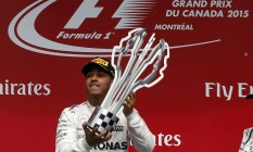 Lewis Hamilton venceu pela quartavez o GP do Canadá de Fórmula-1 Foto: CHRIS WATTIE / REUTERS