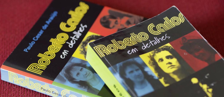Biografia de Roberto Carlos escrita por Paulo Cesar Araújo, que resultou em processo Foto: Fábio Seixo