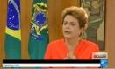 Presidente Dilma foi entrevista pelo canal de TV France 24 Foto: Reprodução