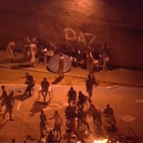 Menores fazem rebelião em unidade da antiga Febem, na Grande SP Foto: Reprodução GloboNews