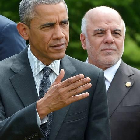 Abadi passou despercebido Foto: MANDEL NGAN / AFP