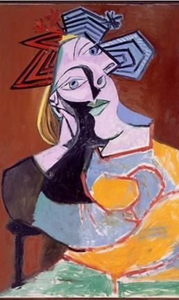 Obra de Picasso que será exposta no CCBB Foto: Reprodução