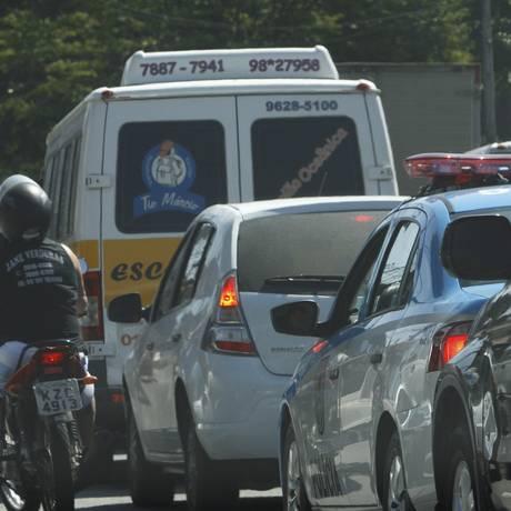 A prefeitura de Niterói não poderá captar recursos do Orçamento Geral da União para futuros projetos de mobilidade urbana Foto: Jorge Casagrande / Agência O Globo