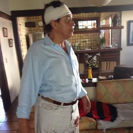 José Alcântara recebeu golpes de facão na cabeça Foto: Raul Silvestre/Divulgação / Raul Silvestre/divulgação