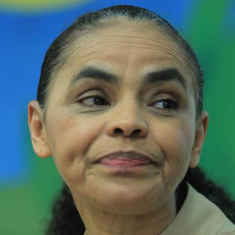Em palestra em São Paulo, Marina responsabilizou governo pela crise econômica Foto: Marcos Alves / Agência O Globo
