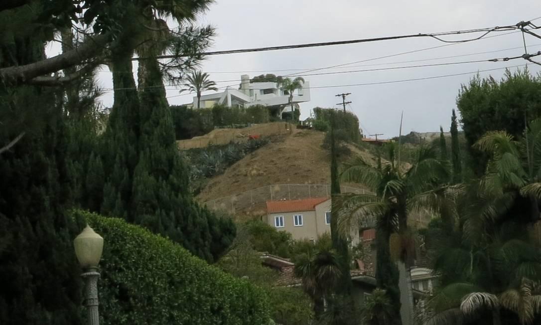 Casa do ator Leonardo DiCaprio, em Hollywood Hills Foto: Bruno Rosa / Agência O GLOBO