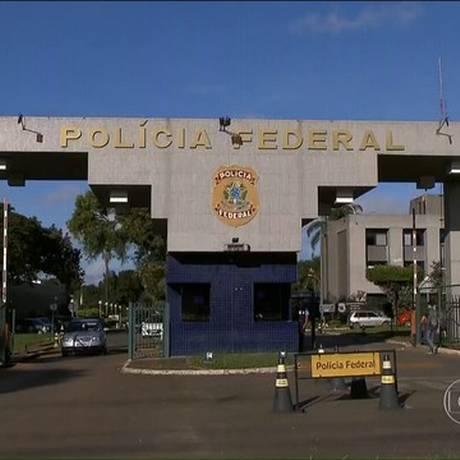 Sede da PF em Curitiba Foto: Reprodução TV Globo