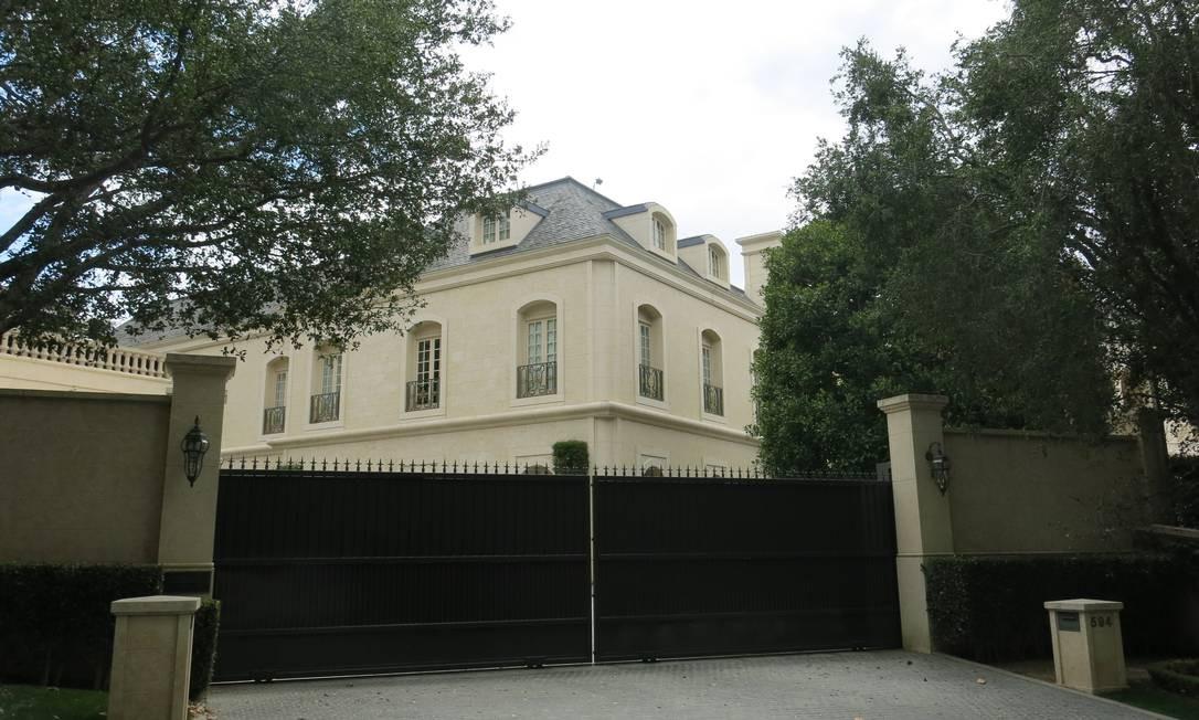 A casa da apresentadora Ellen Degeneres, em Beverly Hills Foto: Bruno Rosa / Agência O GLOBO