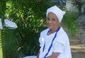 MP foi acionado para investigar morte de mãe de santo, que deve ser homenageada em ato no Rio Foto: Arquivo pessoal