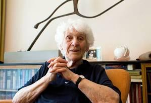 Segundo Rapoport, ela adquiriu seu título pelas vítimas do nazismo Foto: REUTERS/LANDOV