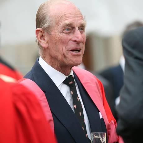 Príncipe Philip Foto: GRAHAM BARCLAY / BLOOMBERG NEWS