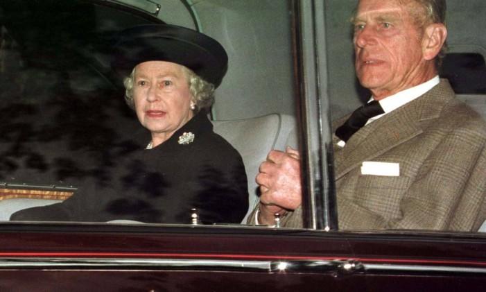 Príncipe Philips e rainha Foto: Reuters