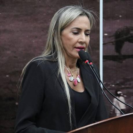 A vereadora Virgínia Magrini (PP) Foto: Facebook / Divulgação