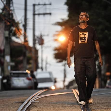 Relação de afeto: Zod, o DJ idealizador da emblemática figura onde o bonde aparece chorando Foto: Guilherme Leporace / Agência O Globo