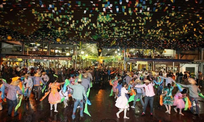Arraiá da Feira de São Cristóvão Foto: Cléber Júnior / Agência O Globo (17/07/2010)