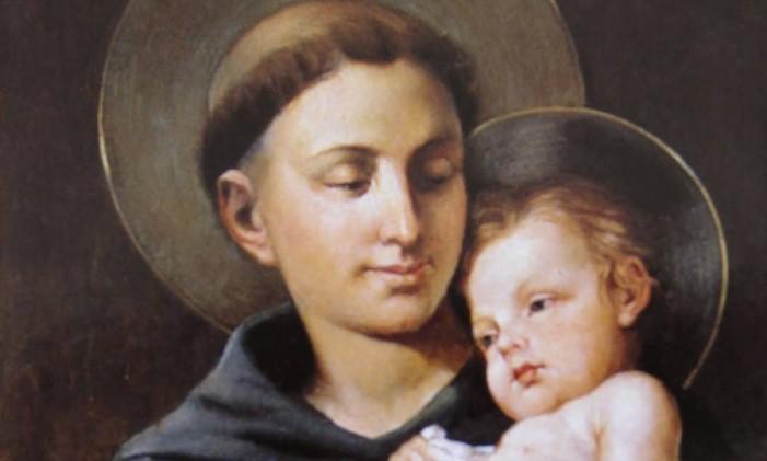 Imagem de Santo Antônio e o menino Jesus Foto: Divulgação
