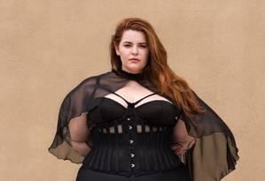 """Tess, numa das fotos do ensaio da revista de domingo do """"Guardian"""" Foto: Reprodução"""