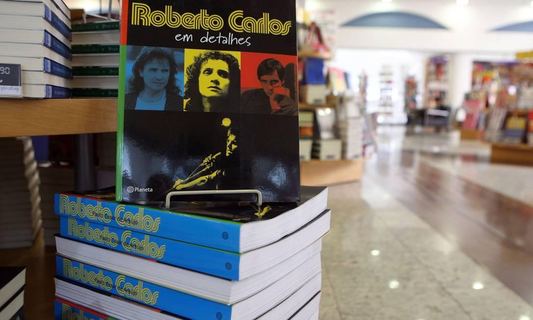 Biografia 'Roberto Carlos em detalhes', publicada em 2006 Foto: / Hedeson Alves