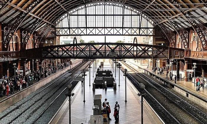 Estação da Luz, São Paulo Foto: @leozaorj / Instagram