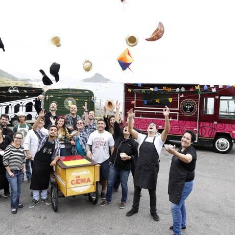Novidade. Food Trucks ultrapassam barreiras e realizam São João do Américas Shopping Foto: Fabio Rossi