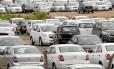 Estoque de carros da montadora chevrolet em São Bernardo do Campo