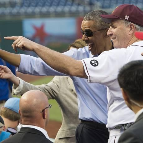 Obama tirou sarro dos adversário republicanos Foto: SAUL LOEB / AFP