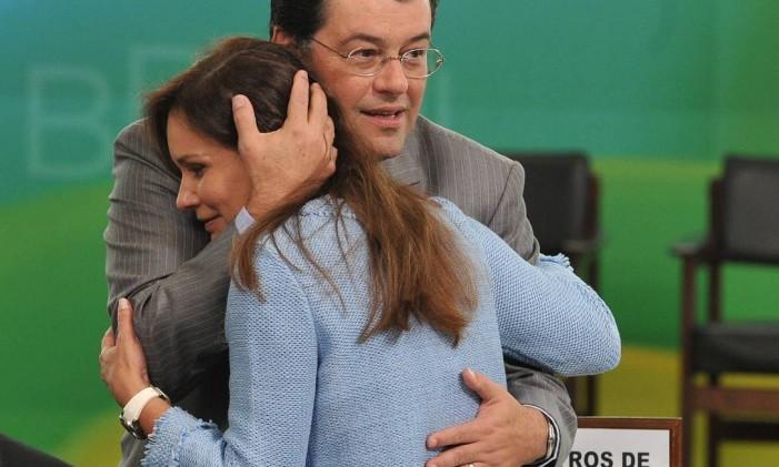 Eduardo Braga e Sandra Braga Foto: Reprodução / Facebook