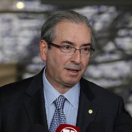 O presidente da Câmara dos Deputados, Eduardo Cunha Foto: Givaldo Barbosa / Agência O Globo