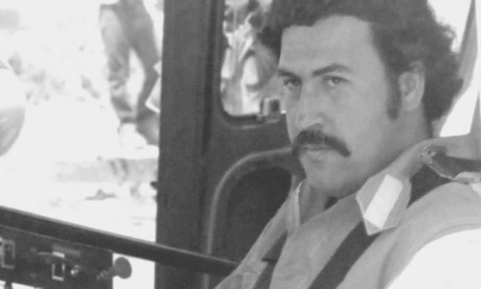 Escobar em foto de acervo Foto: Acervo pessoal de Juan Pablo Escobar