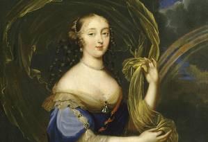 Madame de Montespan: 'caso dos venenos' a afastou do rei francês Luís XIV Foto: Reprodução