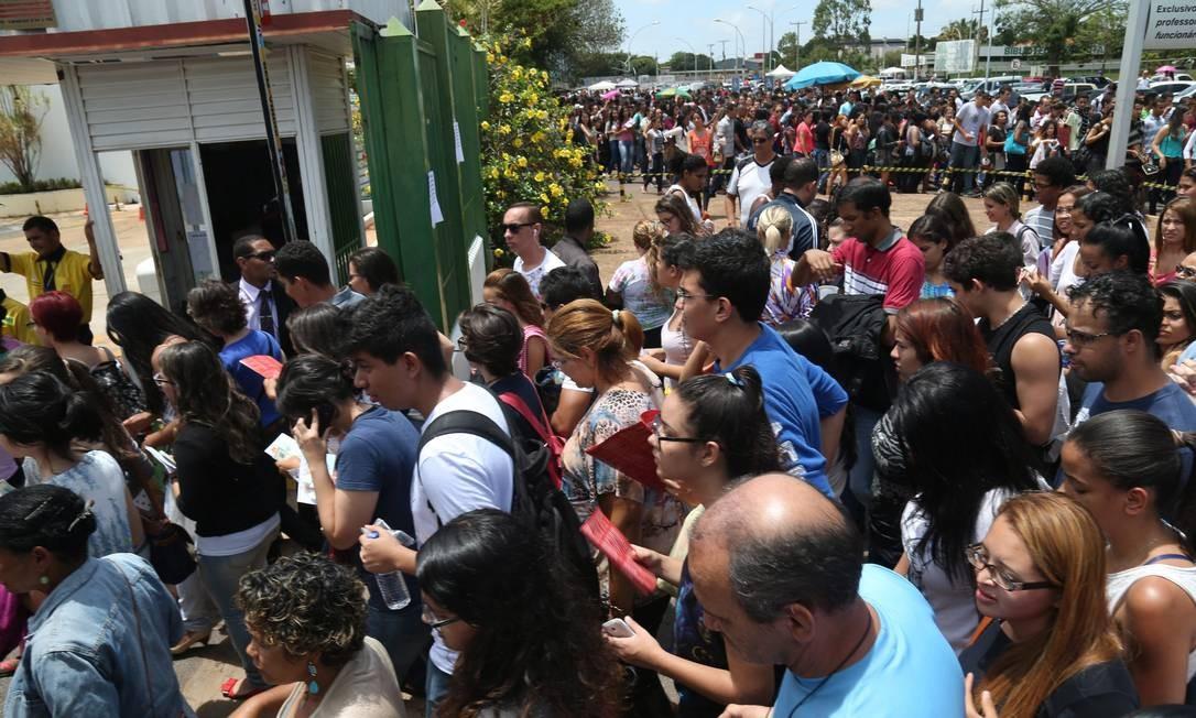 Ansiedade pode ajudar em desafios como provas Foto: / ANDRE COELHO/Agência O Globo
