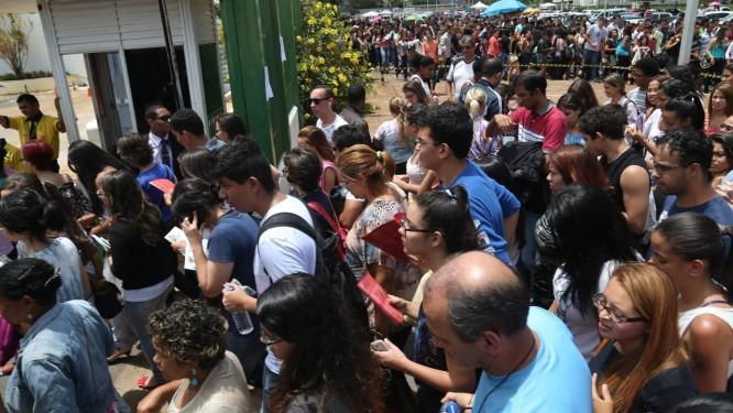 Ansiedade pode ajudar em desafios como provas Foto: ANDRE COELHO/Agência O Globo