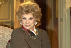 Tônia Carrero atuou em 54 espetáculos, 19 filmes e 15 novelas: trajetória profissional marcada por grandes sucessos Foto: TV Globo (03/09/2012) / João Miguel Júnior