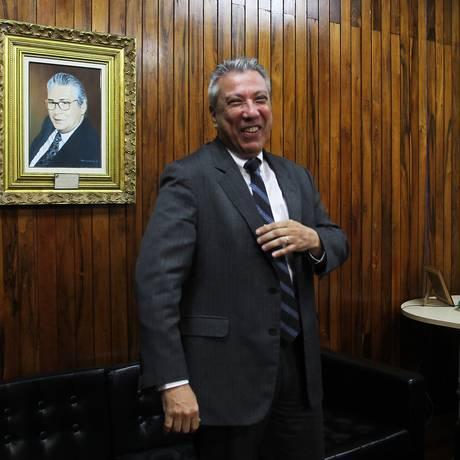 Mário Covas Neto, em seu gabinete na Câmara Municipal de SP Foto: Michel Filho/ Agência O Globo