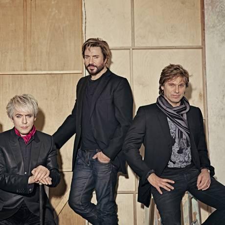 John Taylor, Nick Rhodes, Simon LeBon e Roger Taylor, os integrantes do grupo Duran Duran Foto: Divulgação