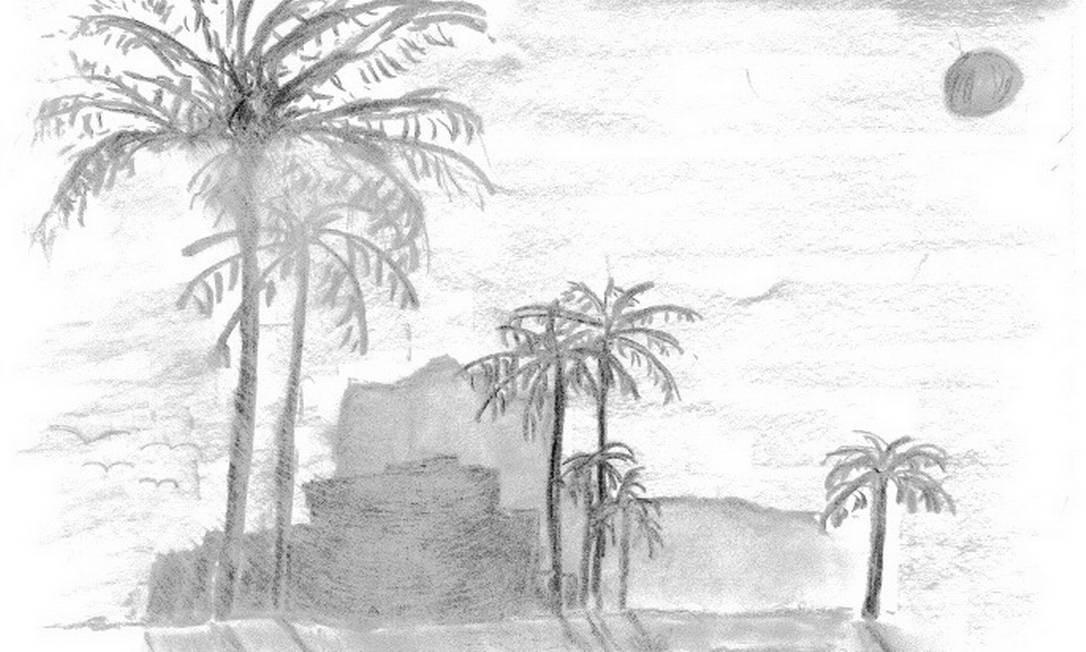 Cenário de construção entre palmeiras. López está detido desde fevereiro de 2014 e seu estado de saúde é preocupante Foto: Arquivo pessoal