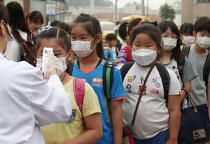 Escolas são reabertas após terem sido fechadas temporariamente para que MERS não tivesse maior propagação Foto: Shin Young-geun / AP