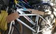 Bicicletas apreendidas na feira de Duque de Caxias: CPI acredita que informalidade no comércio de bikes e peças alimenta venda de produtos roubados