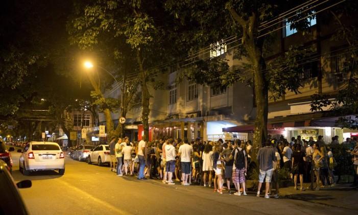 A Rua Dias Ferreira, no Leblon Foto: Fábio Seixo / Agência O Globo