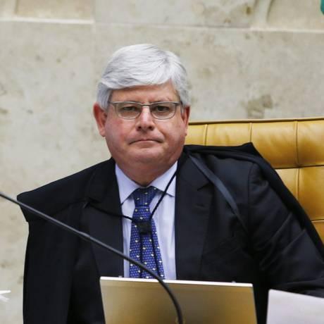 O Procurador Geral da República, Rodrigo Janot Foto: Jorge William / Arquivo O Globo
