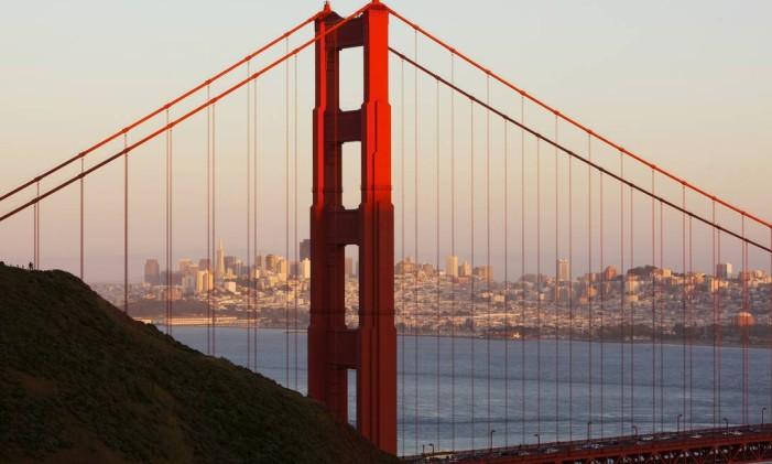 Golden Gate em São Francisco Foto: Divulgação