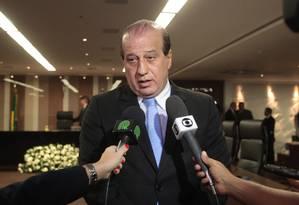 O presidente do Tribunal de Contas da União (TCU), ministro Augusto Nardes Foto: Givaldo Barbosa/(13/08/2014) / Agência O Globo