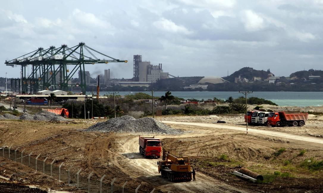 Porto Mariel, em Cuba Foto: Ismael Francisco/ Cubadebate