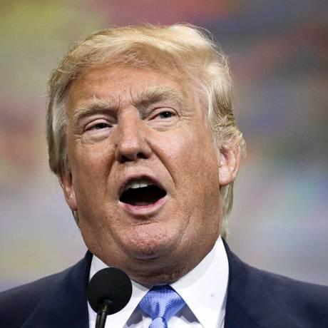 Donald Trump tem uma fortuna estimada em US$ 9 bilhões Foto: Mark Humphrey / AP