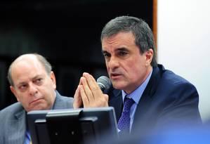 Ministro da Justiça em audiência na Câmara dos Deputados Foto: GUSTAVO LIMA / Agência Câmara