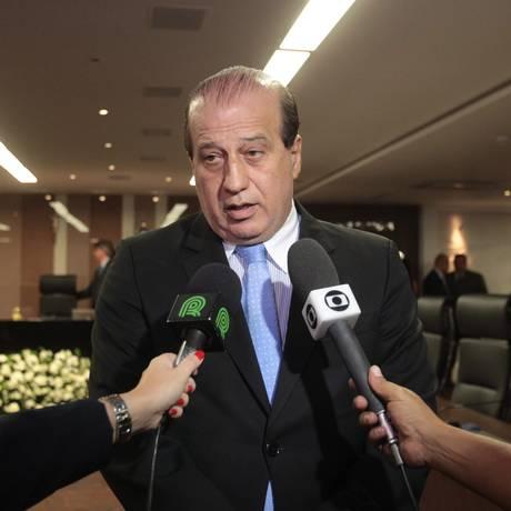 O ministro do Tribunal Contas da União (TCU), Augusto Nardes Foto: Givaldo Barbosa / Arquivo O Globo