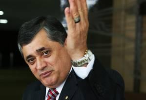 José Guimarães (PT-CE), líder do Governo na Câmara: 'A base está unida para concluir a votação do ajuste' Foto: Ailton de Freitas / Agência O Globo